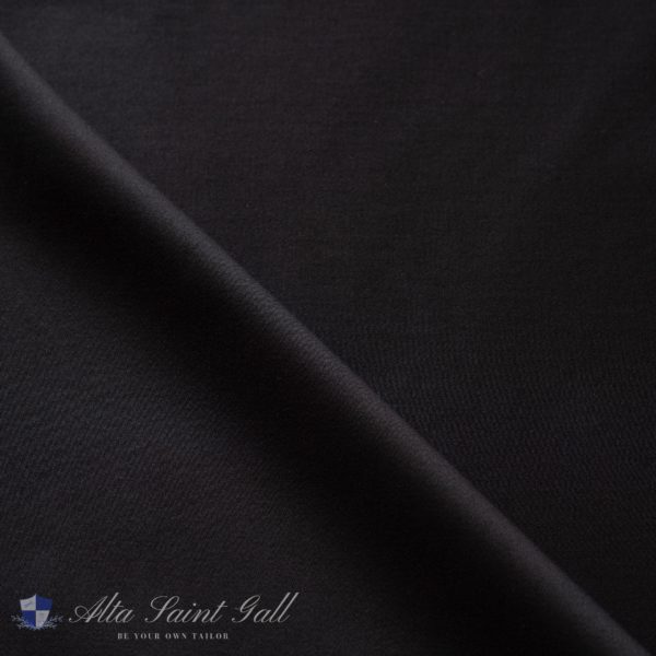Tailor Box - Cotton satin stretch black