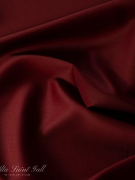 Tailor Box - Wool satin double face bordeaux